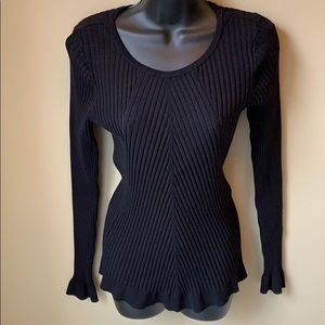 INC ribbed top size XL